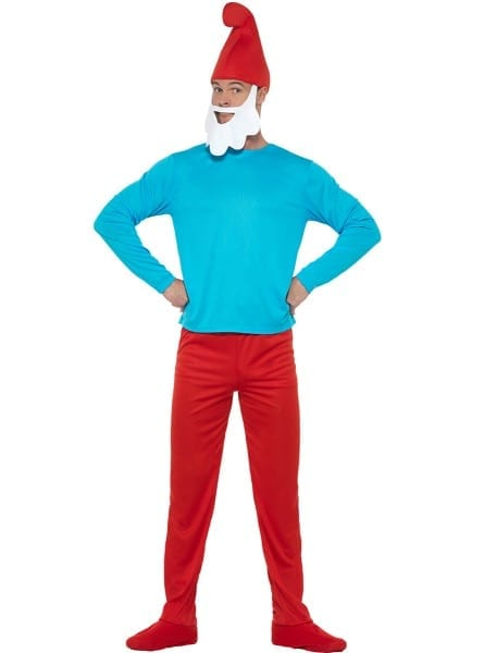 Papa Smurf Costume For Men  The Coolest
