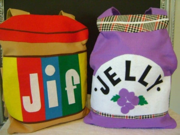 Peanut Butter And Jelly Costume Set