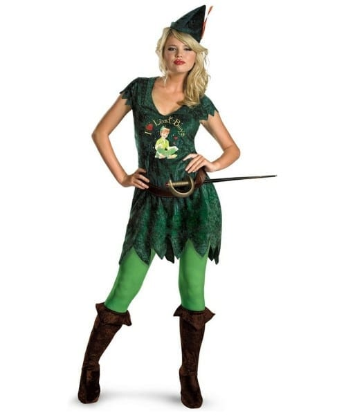 Adult Sassy Peter Pan Disney Costume
