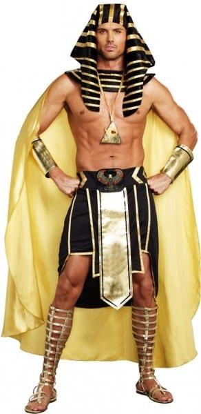Good Quality Child Kids Boys Egyptian King Pharaoh Costume