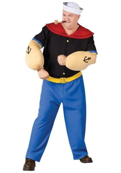 Phenomenalig And Tall Halloween Costumes Plus Size Popeye Costume