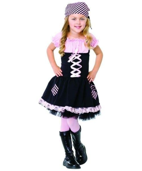 Little Pirate Girl Kids Costume