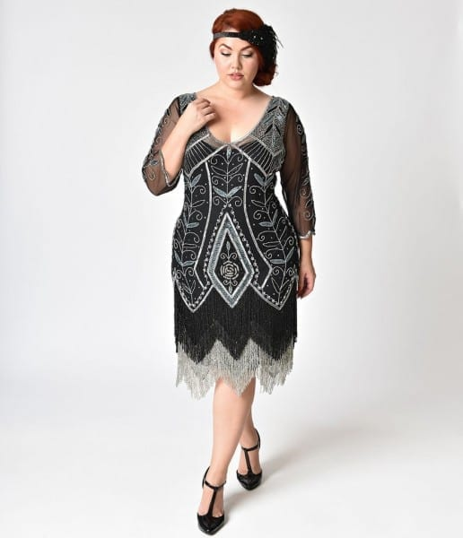 20s Style Plus Size Dresses