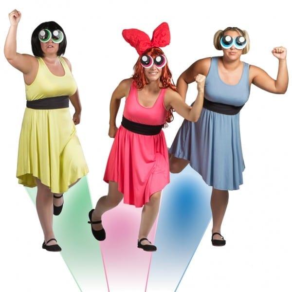 Diy Powerpuff Girls Costumes