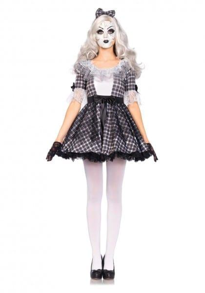 Pretty Porcelain Doll Costume Rag Doll Costume Adult Women