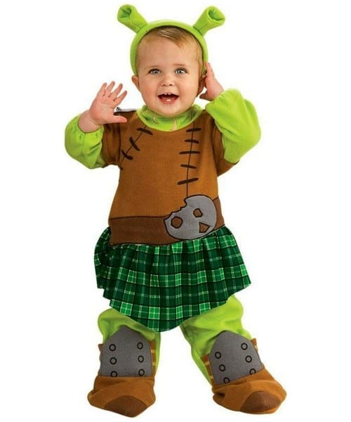 Shrek Princess Fiona Warri Baby Costume