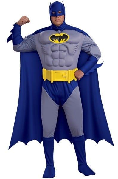 Batman Deluxe Muscle Chest Batman Plus Size Costume