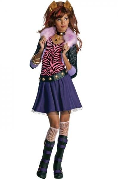 Monster High Clawdeen Wolf Child Halloween Costume