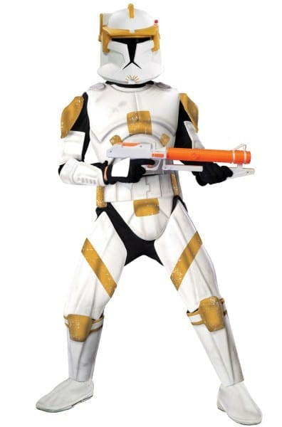 Star Wars Clone Wars Deluxe Clone Trooper Commander Cody Adult