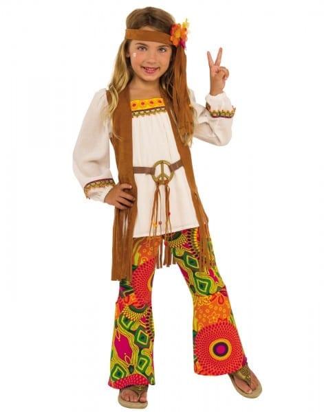 Flower Child Girls Hippie 1960's Peace Decades Halloween Costume