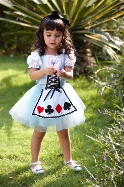 2018 Alice In Wonderland Princess Dance Princess Flowers Skirts