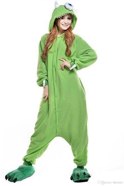 Unisex Adult Animal Sleep Suit Cosplay Kigurumi Costume Pajamas