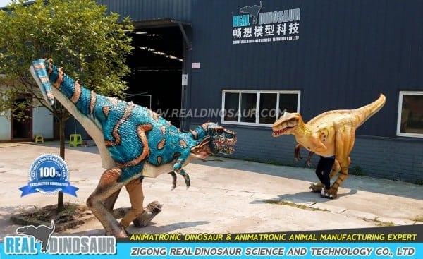 Walking Dinosaur Costume, Realistic Dinosaur Cosutme