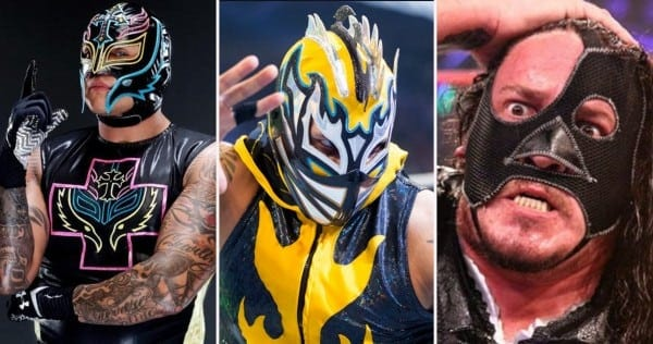 5 Photos Wrestlers Unmasked You Can't Unsee
