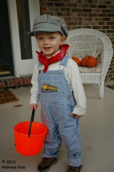Railroad Kids  Halloween Costume  Train Engineer Redux