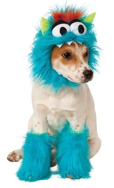 Rubies Costume Company Monster Set Pet Costume, Small, Blue