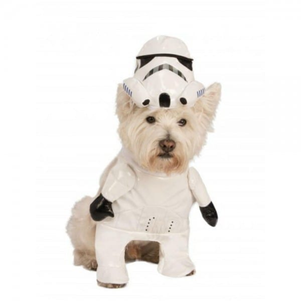 Star Wars Walking Stormtrooper Dog Costume By