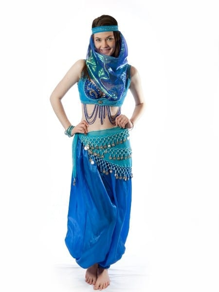Arabian Nights Blue Harem Costumecreative Costumes