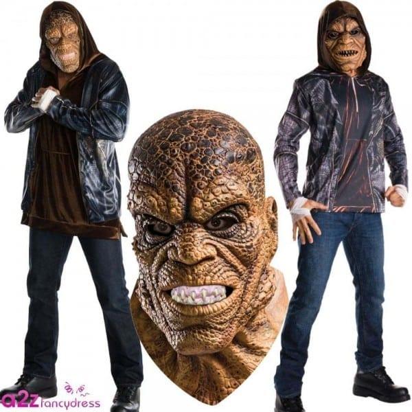 Suicide Squad Mens Killer Croc Costume Accessories Halloween Fancy