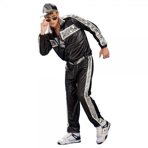 Rap Star Costume 80s 90s Vanilla Hip Hop Funny Halloween Fancy
