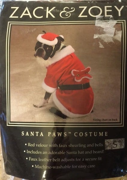 Zack & Zoey Santa Paws Dog Costume Christmas And 24 Similar Items
