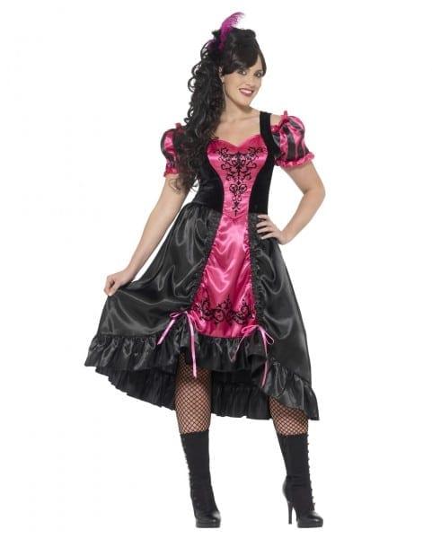 Sassy Saloon Girl Costume Plus Size To Order