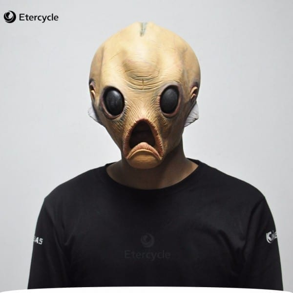 Scary Alien Latex Masks Halloween Et Cosplay Props Party Fancy