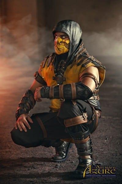 Scorpion Mortal Kombat X Cosplay 2 By Artisansdazure On Deviantart