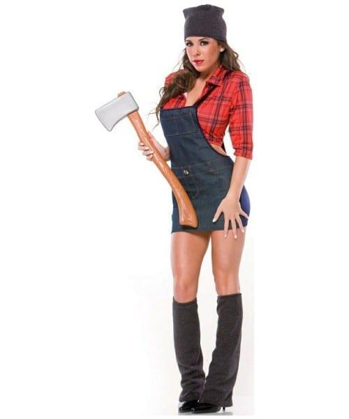 Adult Sexy Lumberjack Costume