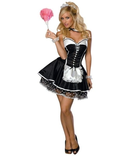 Adult Sexy Maid Halloween Costume