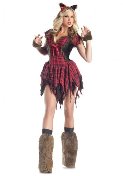 Sexy Werewolf Lady Costume Womens Costumes Cute Halloween For