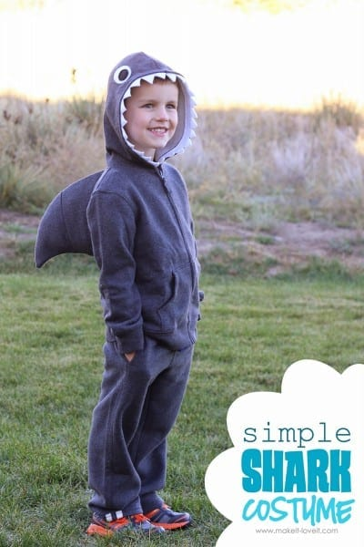 Halloween Costume Ideas  Simple Shark (with Dorsal Fin) – Make It