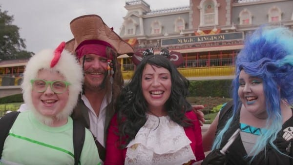 Top Costumes At Mickey's Not So Scary Halloween Party Featured In