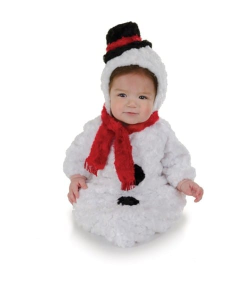 Snowman Bunting Baby Costume