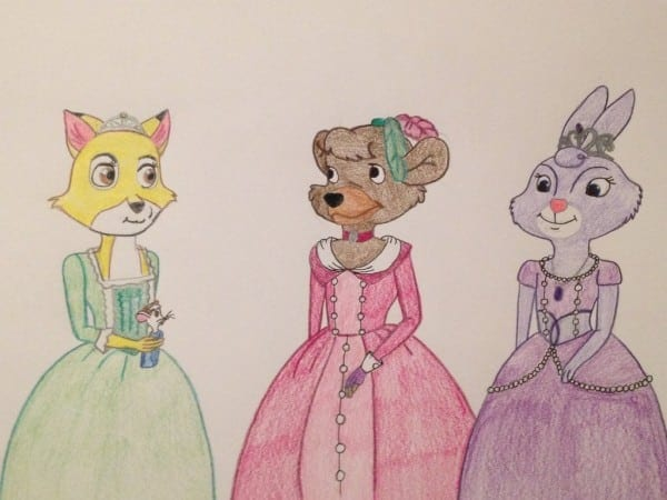 Sofia, Amber, Hildegard And Clio As Animals By Madiquin185 On