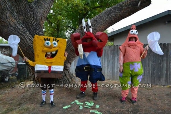 Coolest 90+ Homemade Spongebob Character Costumes