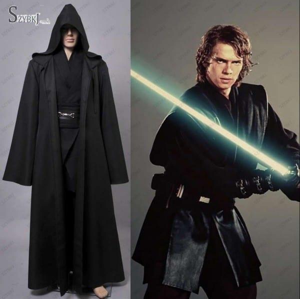 Star Wars Costume Jedi Knight Cosplay Costume Anakin Skywalker