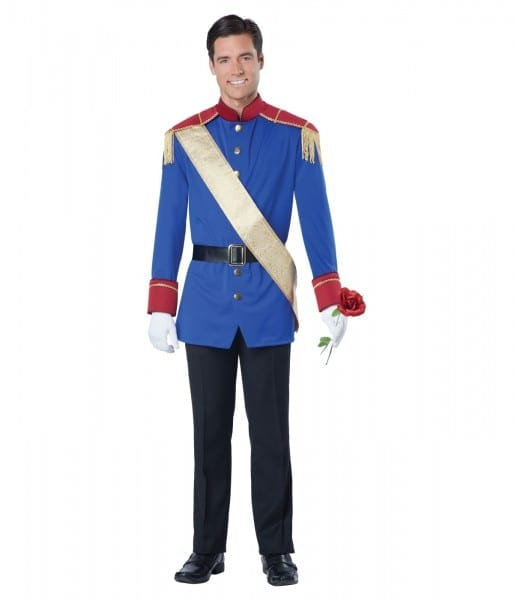 Storybook Prince Charming Man Costume