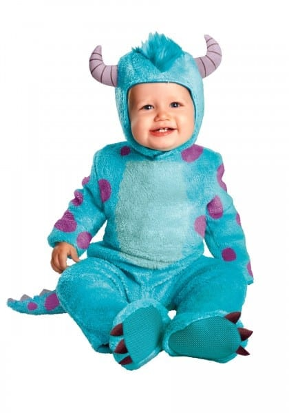 Sulley Classic Infant Costume Picturesque Baby Boo