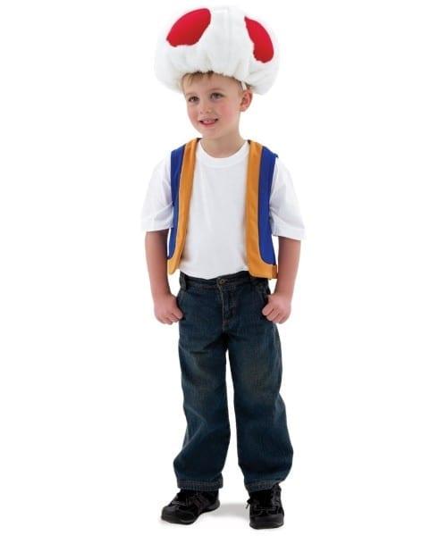Mario Super Toad Kids Costume