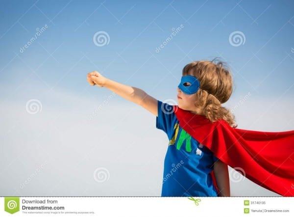 Superhero Kid Stock Image  Image Of Concept, Girl, Outdoors