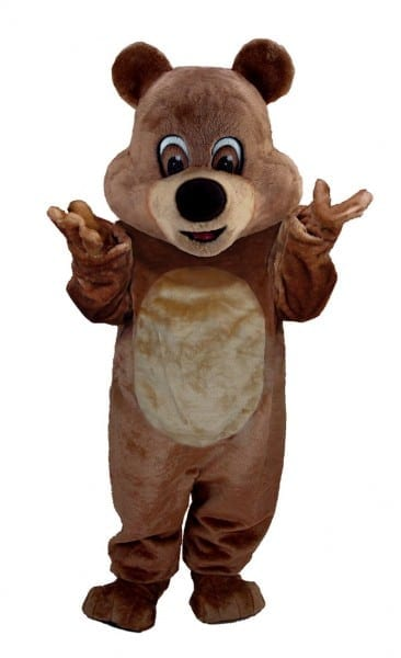 Buy Brown Teddy Bear Mascot Costume Support Your Sports Team With