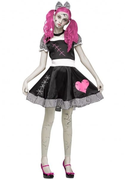 Teen Scary Brokenll Costume Girl Costumes For Halloweenscary