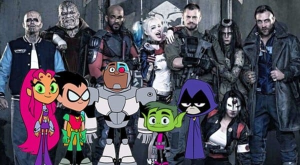 Teen Titans Go!' Features A 'suicide Squad' Easter Egg