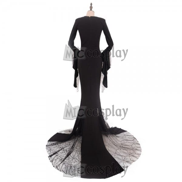 The Addams Family Morticia Addams Cosplay Costume On Aliexpress