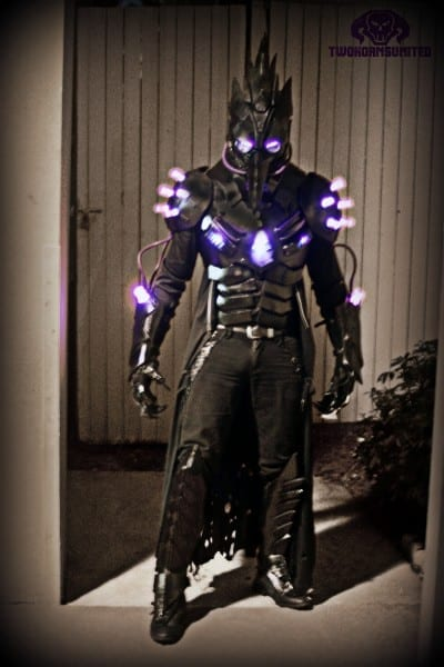 The Black Plague Dark Futuristic Light Up Costume By