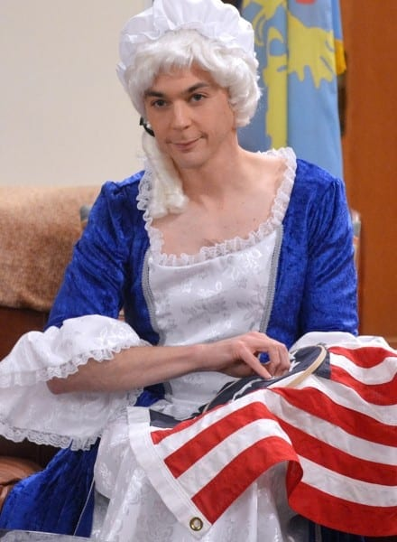 Betsy Ross Costume, S8ep10, 'the Champagne Reflection' – Screener