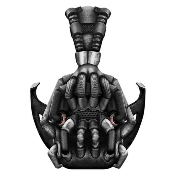 The Dark Knight Rises   Bane's Mask Png By Billelbe On Deviantart