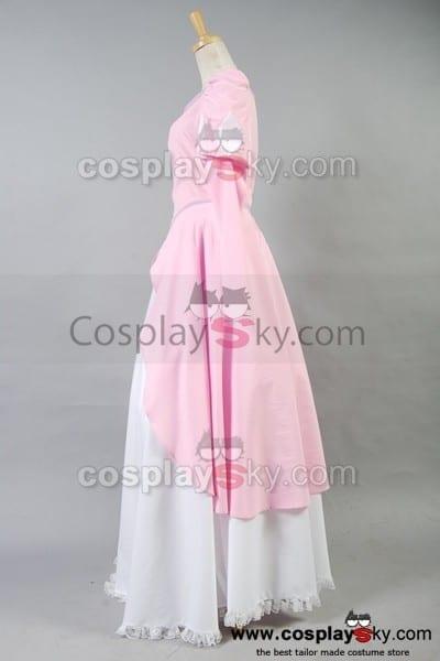 The Little Mermaid Pink Dress Costume