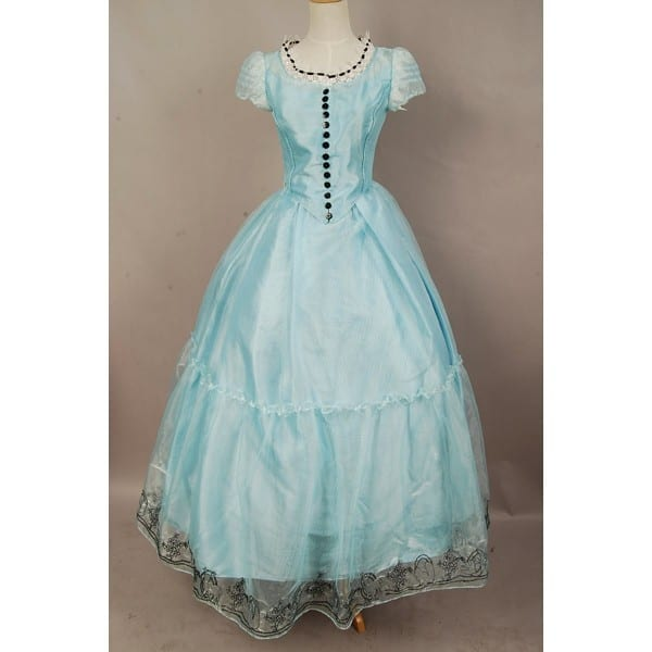 Shop For Tim Burton's Alice In Wonderland Alice Light Blue Dress